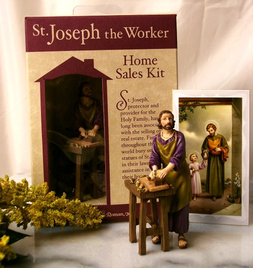 a boomer in the pew do some roman catholics practice idolatry with st joseph home selling kits. Black Bedroom Furniture Sets. Home Design Ideas