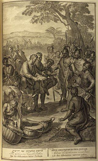 Gibeonites and Joshua