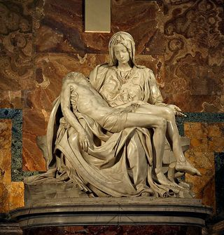 Pieta, by Michelangelo Buonarroti