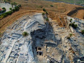Dig at the ancient city of Megiddo