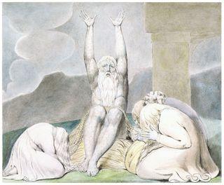 Job's Despair, by William Blake
