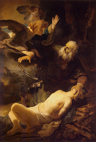 Sacrifice of Isaac, 1635, by Rembrandt, The State Hermitage Museum