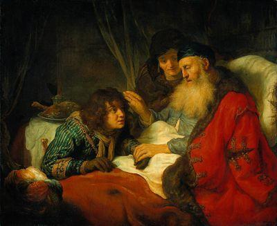 Isaac Blessing Jacob, 1639, by Govert Teunisz Flinck, Rijksmuseum, Amsterdam