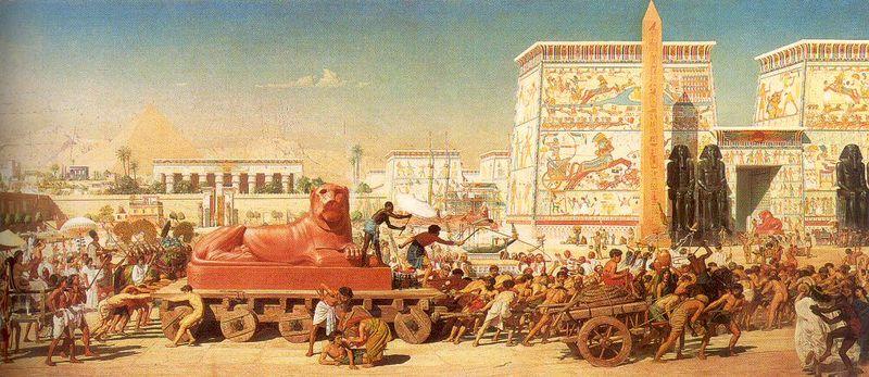 Israel in Eygpt, 1867, by Sir Edward Poynter, Guildhall Art Gallery, London