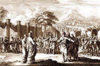 Amminadab's Offering, c 1700, by David Martin