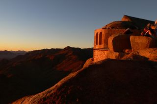 Modern Day Chapel Atop Mount Sinai, Creative Commons Photograph by Lee Horrocks