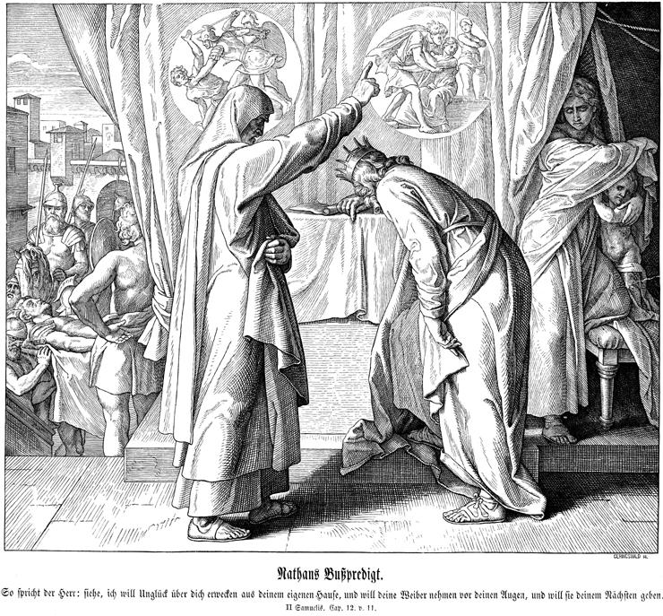 Nathan Confronts King David