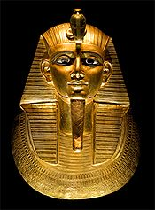Golden Mask of Psusennes I, likely the great-grandfather of Solomon's Egyptian Father-in-Law