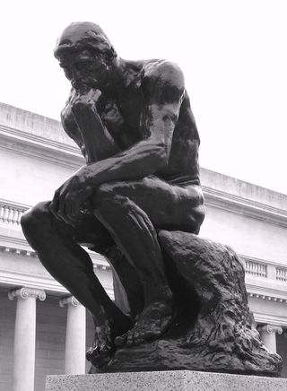 Thinker, by Rodin, from my personal photography archives