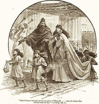 Solomon with Pharoah's Daughter