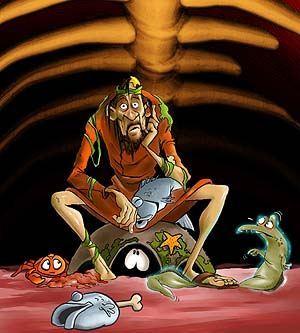 """Jonah"" by animator Hennie Blaauw."