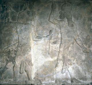 Panel of Sennacherib, 704-681 BC, British Museum