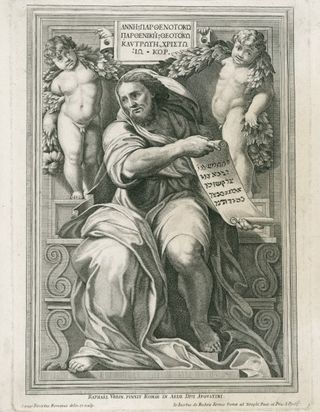 The Prophet Isaiah, Cesare Fantetti, Royal Academy of Arts, London
