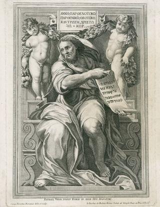 The Prophet Isaiah, Cesare Fantetti, Royal Academy of Arts, London