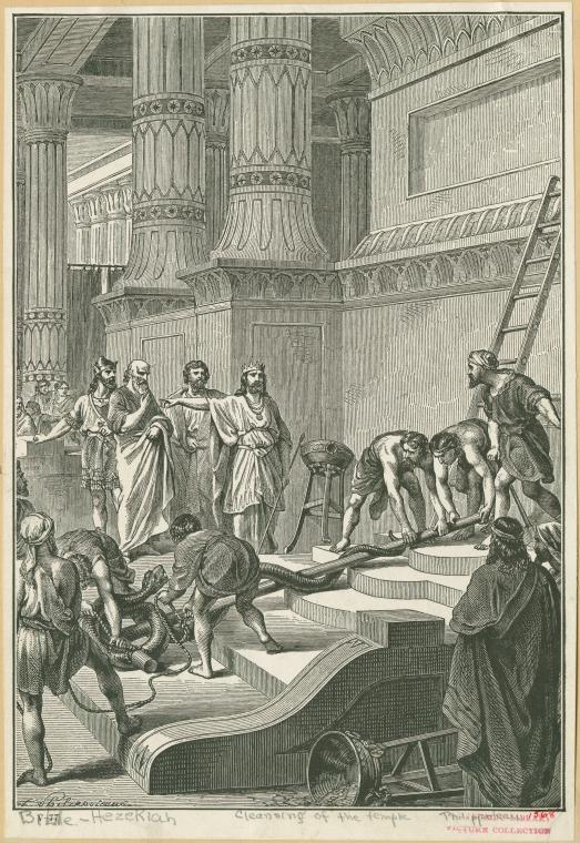 Hezekiah Cleansing Temple