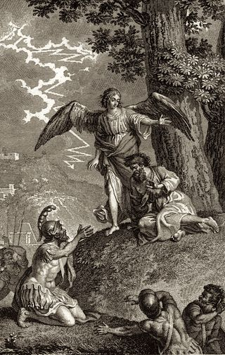The Forbidden Flight To Egypt, by Clément Pierre Marillier