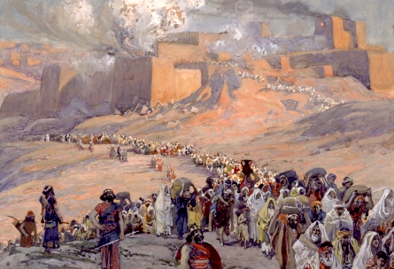 The Flight of the Prisoners, by Tissot