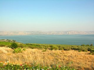Tabgha, Mount of the Beatitudes, near Capernaum