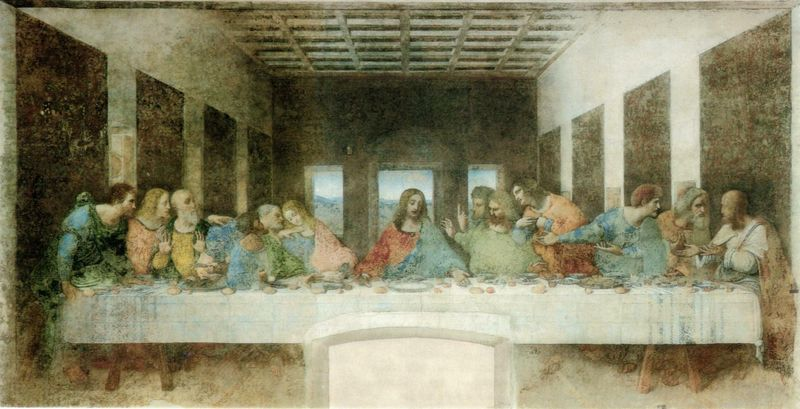 The Last Supper, by Leonardo da Vinci