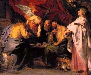 The Four Evangeists Peter Paul Rubens
