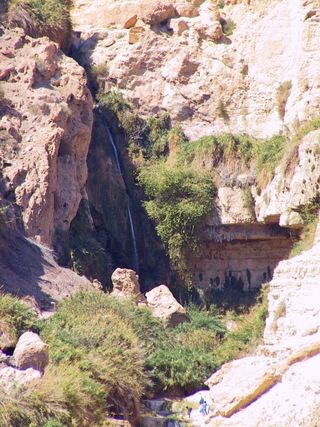 A Cave in Engedi