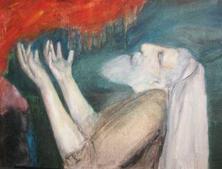 Elijah on Mount Carmel, by SHOSHANA KERTESZ