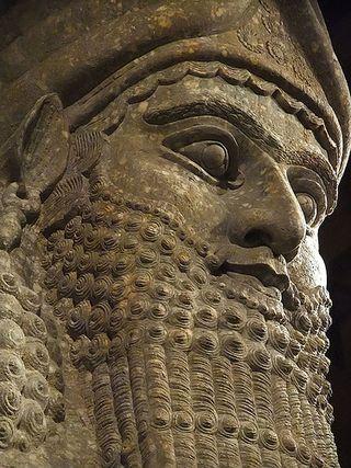 Lamassu King Sargon II, Flickr Creative Commons Photograph from Mary Harrsch