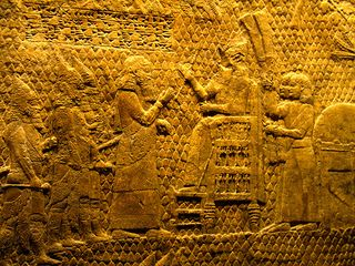 Photograph of Sennacherib Relief, British Museum, by oligopistos (Creative Commons License)