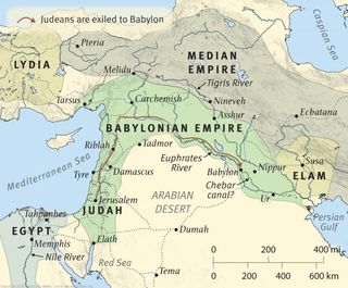 Babylonian Empire Time of Ezekiel, from the ESV Study Bible