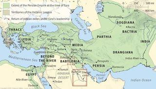 Persian Empire at the Time of Ezra, ESV Study Bible