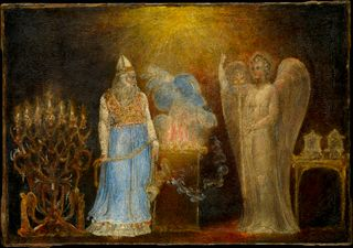 The Angel Appearing to Zacharias, by William Blake, Metropolitan Museum of Art, New York
