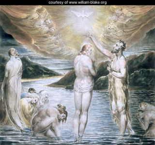The Baptism of Christ, by William Blake