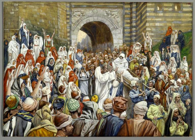 Resurrection Widow's Son, by James Tissot