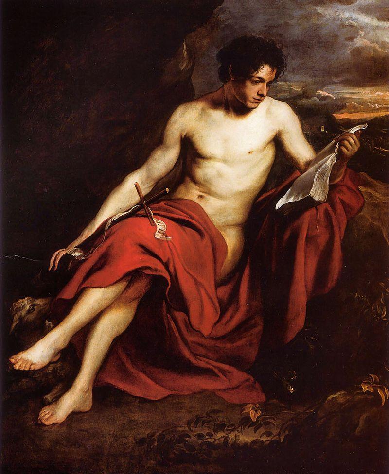 John the Baptist Anthony van Dyck