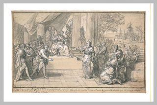 Paul and Barnabus at Paphos, by Louis de Boullogne