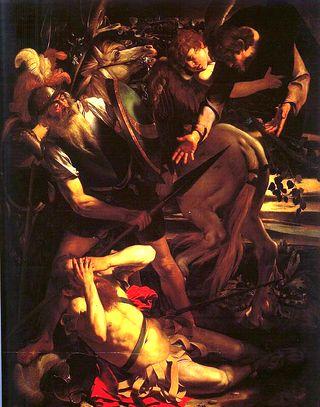 The Conversion of St. Paul, 1600, Caravaggio