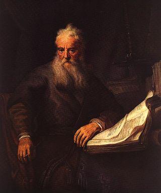 Apostle Paul, 1635, Rembrandt