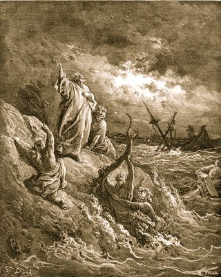 Paul Shipwrecked on Malta, Gustave Doré