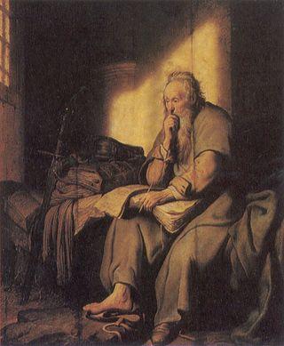 Paul Prison by Rembrandt