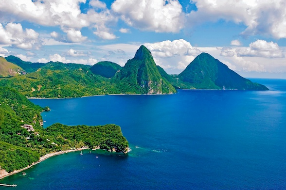 St. Lucia, Anse Chastanet